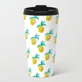 Pineapple Princess Metal Travel Mug