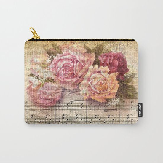 Vintage Music #2 Carry-All Pouch