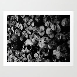 Ossuary.  Art Print