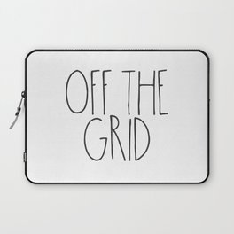 Off the Grid Laptop Sleeve