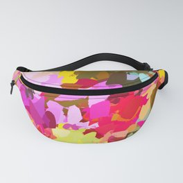 Winterberry #painting #colorful Fanny Pack