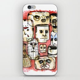 Oh The Horror iPhone Skin