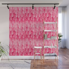 Rose Slime Wall Mural