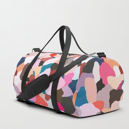 petals: abstract painting Duffle Bag