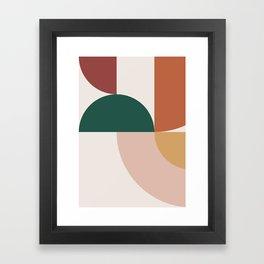 Abstract Geometric 12 Framed Art Print