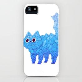 Crystal Cat iPhone Case