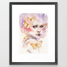 All A Flutter Framed Art Print