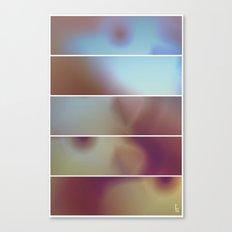 Overexposure (Five Panels Series) Canvas Print