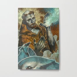 Saint Francis Revisited Metal Print