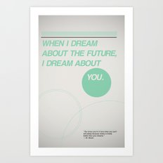 Dream of Future Art Print