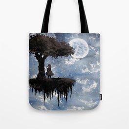 The Girl Among The Stars Tote Bag