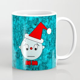 Funny Emotionless Head Coffee Mug