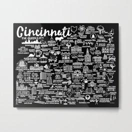 Cincinnati Ohio  Metal Print