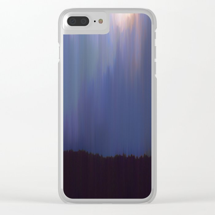 Night Clear iPhone Case