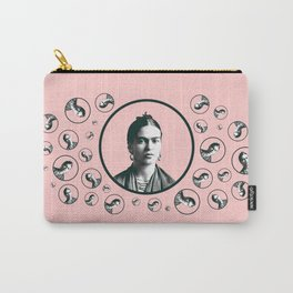Frida Kahlo design Carry-All Pouch
