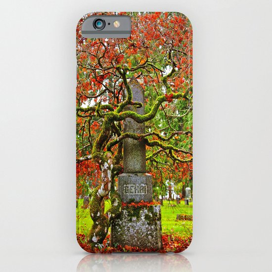 Cemetery love iPhone & iPod Case