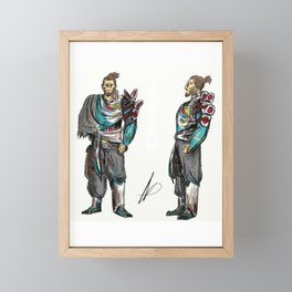 John Falk #1 Framed Mini Art Print