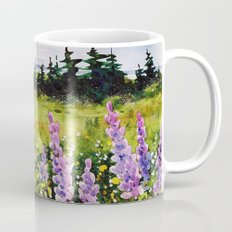 Lupines of Nova Scotia Mug