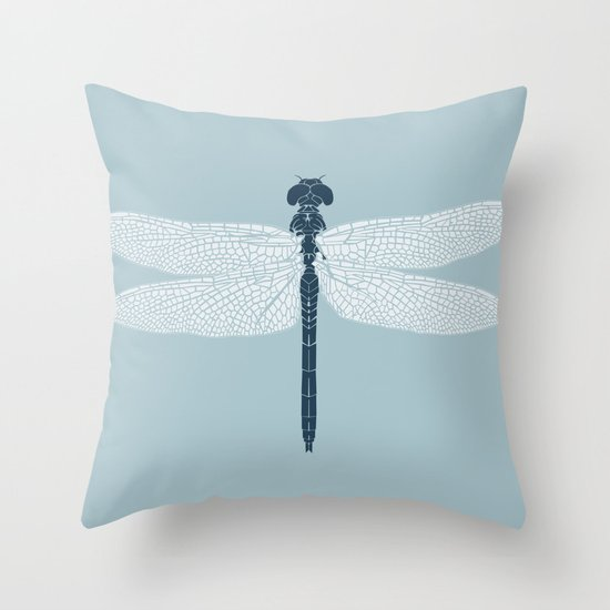 dragonfly v3 Throw Pillow