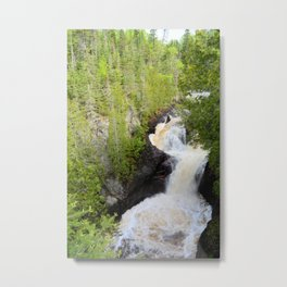 Devils Kettle Metal Print