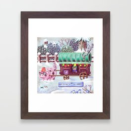 Stardew Valley - Travelling Cart Framed Art Print