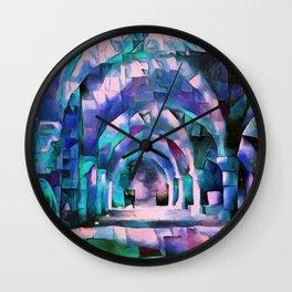 Night Whispers Wall Clock