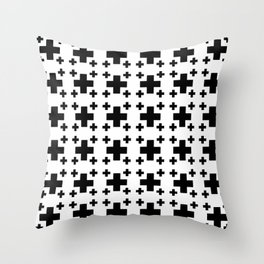 Jerusalem Cross 2 Throw Pillow