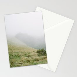 mt tam in the fog Stationery Cards