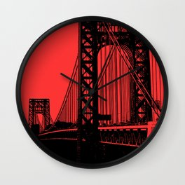 George Washington Bridge Wall Clock