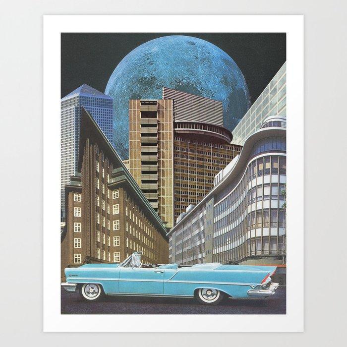 Urban Transportation Art Print