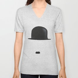 Charles Chaplin Unisex V-Neck