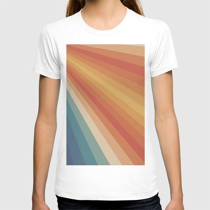 Retro 70s Sunrays T-shirt