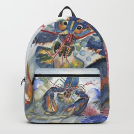 Under The Sea 2 - Lobster Backpack