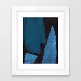 Dark Abstract Framed Art Print