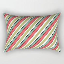 Striped pattern 10 Rectangular Pillow