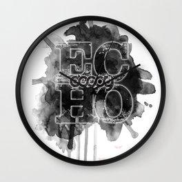Decoy - echo Wall Clock