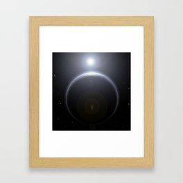 Star Rise Framed Art Print