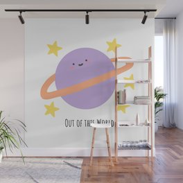 Out of this World Wall Mural