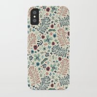 flora iPhone & iPod Cases featuring Flora by Anna Deegan