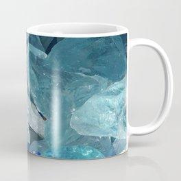 Blue Crystals Coffee Mug