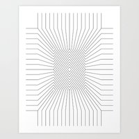 Perspective Hole 2 Art Print