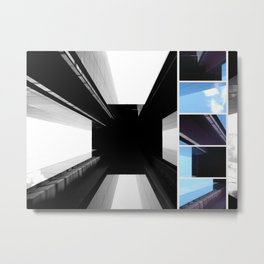 Eternal Tower - Modern Architecture in Berlin Photo Collage Metal Print