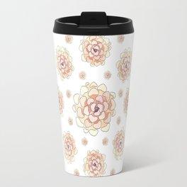 Heart succulent Travel Mug
