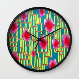 Tiki Torture Wall Clock