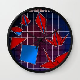Transfolders Wall Clock