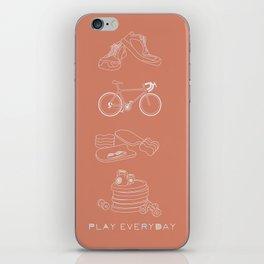 Play Everyday iPhone Skin