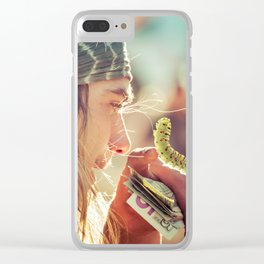 Carny Clear iPhone Case