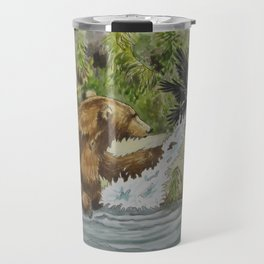 Otis & The Raven Travel Mug