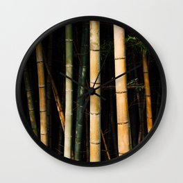 Bamboo Spectrum Wall Clock