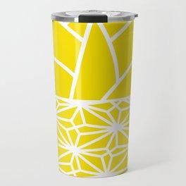 Ananas yellow Travel Mug